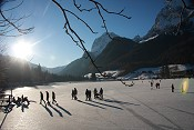 Ramsau-Hintersee-im-Winter