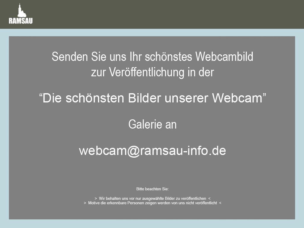 """Best of: Senden Sie uns Ihr schönstes Webcambild für """"Die schönsten Bilder unserer Webcam"""" an: webcam@ramsau-info.de"""