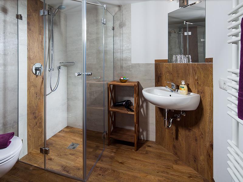 Badezimmer Holzstube