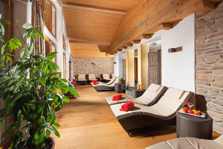 Berg Spa Sauna und Ruhebereich