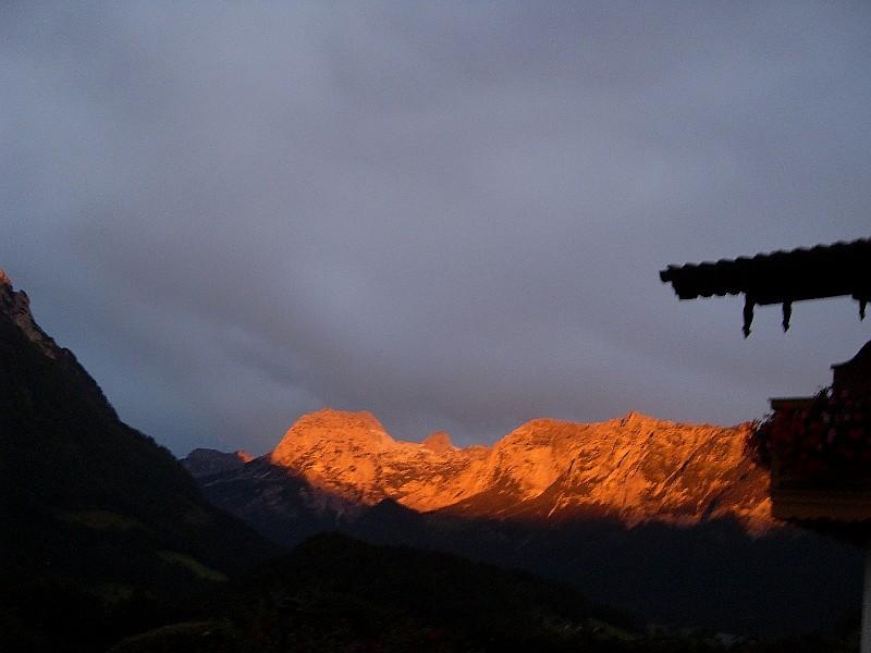 Morgenrot an der Reiteralpe