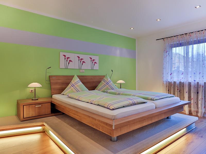 FeWo Edelweiss - Modernes Schlafzimmer
