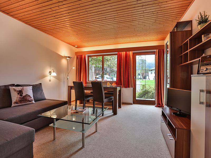 FeWo Almrausch - Wohnzimmer