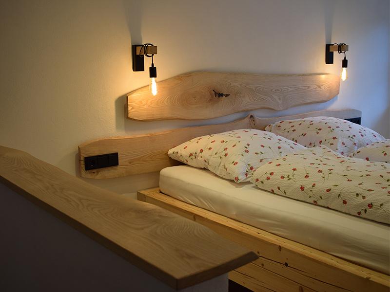FeWo Beim Katherl Schlafzimmer