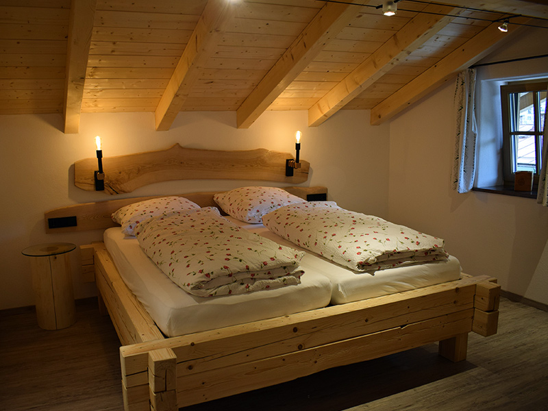 FeWo Beim Sepperl Schlafzimmer
