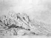 Karl Hagemeister, die Mühlsturzhörner 1873