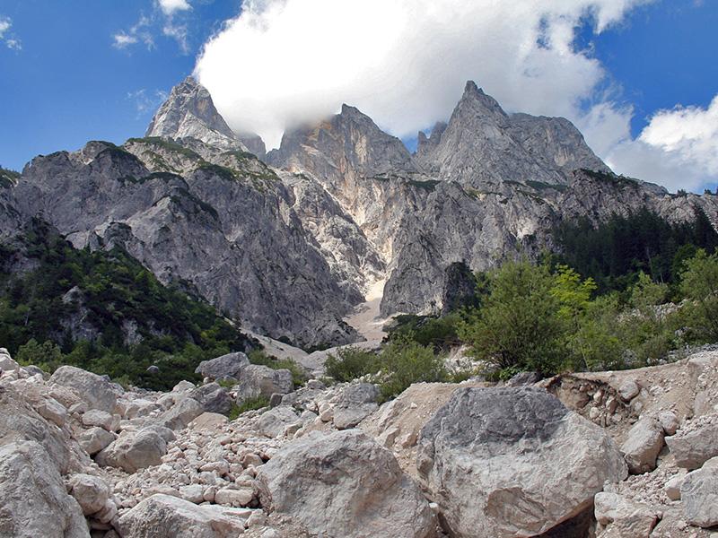 The Mühlsturzhörner of the Reiteralpe